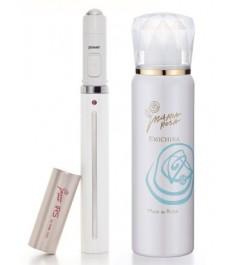 EMICHIKA Vi ccotto & Mask de Rosa/ антивозрастной набор из аппарата и карбокси кислородной маски