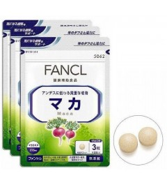 Fancl maca for 90 days