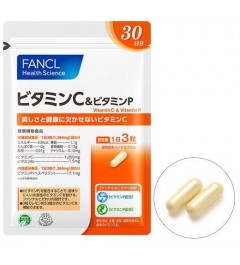 Fancl Vitamin C & Vitamin P for 30 days