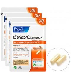 Fancl Vitamin C & Vitamin P for 90 days